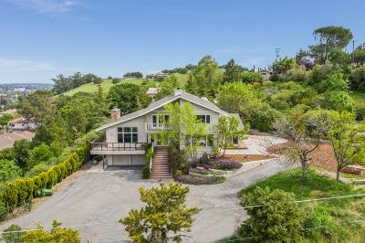 Los Gatos Single Family Home For Sale: 15977 Shannon Road