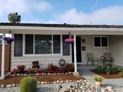San Jose Single Family Home For Sale: 756 El Sombroso Drive