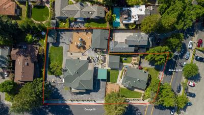 Los Gatos Residential Lots & Land Pending Show For Backups: 16195 George Street