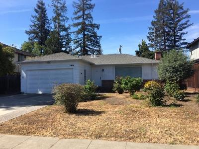 Palo Alto Single Family Home For Sale: 2812 Waverley Street