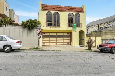San Francisco Single Family Home Pending Show For Backups: 1360 Wayland Street