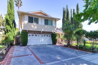 San Jose Single Family Home For Sale: 1739 Curtner Avenue
