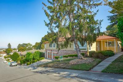 San Mateo Single Family Home For Sale: 423 W 38th Avenue