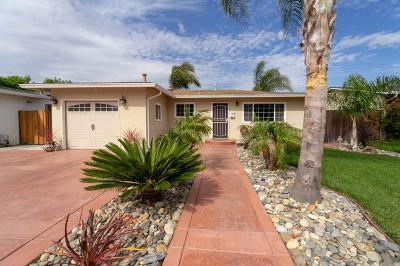 Santa Clara Single Family Home For Sale: 2479 Borax Drive