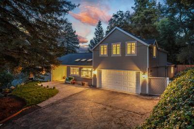 Los Gatos Single Family Home For Sale: 17952 Oak Drive