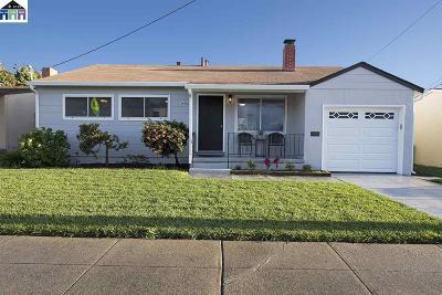 San Lorenzo Single Family Home Pending Show For Backups: 16063 Bertero Avenue