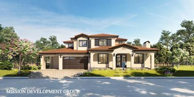 Cupertino Single Family Home For Sale: 10349-51 Palo Vista Road