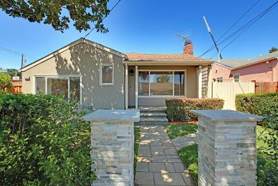 Burlingame Single Family Home For Sale: 1032 Toyon Drive