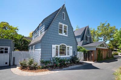 Palo Alto Single Family Home For Sale: 224 N California Avenue