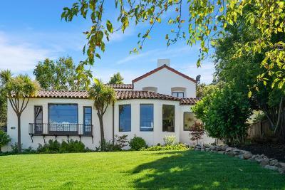 Burlingame Single Family Home For Sale: 1441 Alvarado Avenue