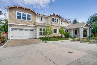 Mountain View Single Family Home For Sale: 557 Maple Court