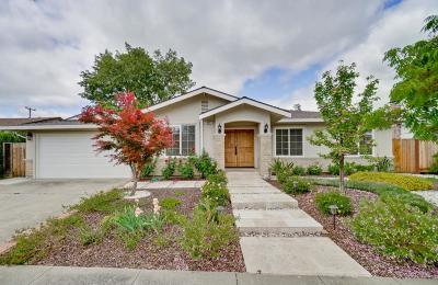 Cupertino Single Family Home For Sale: 10349 Denison Avenue