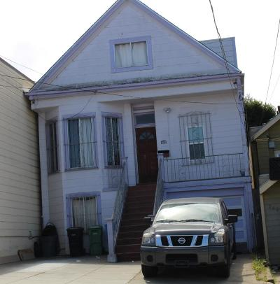 San Francisco Single Family Home For Sale: 256 Gambier Street