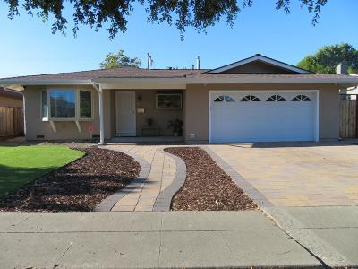 Santa Clara County Single Family Home For Sale: 693 Bolivar Drive