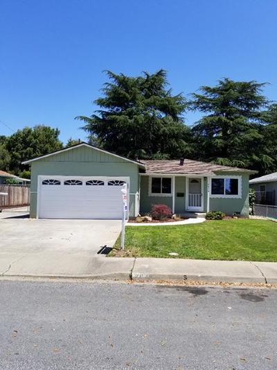 Milpitas Single Family Home For Sale: 2048 Gosser Street