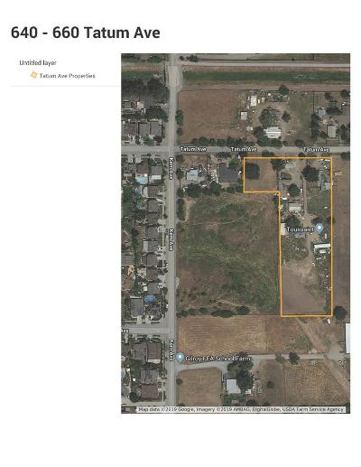 Gilroy Residential Lots & Land For Sale: 660 Tatum Avenue