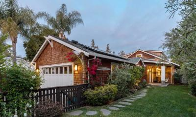 Palo Alto Single Family Home For Sale: 118 Churchill Avenue
