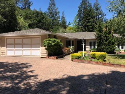 San Mateo County, Santa Clara County Rental For Rent: 1320 Hayne Road