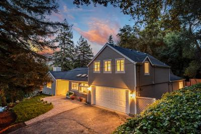 Los Gatos Single Family Home For Sale: 17952 Oak Drive