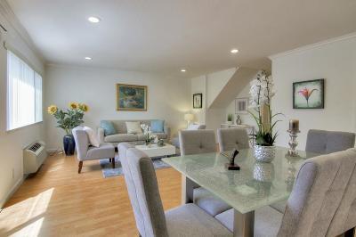 Santa Clara Condo/Townhouse For Sale: 960 Kiely Boulevard #C