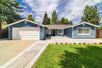 Gilroy Single Family Home For Sale: 1505 Mantelli Drive