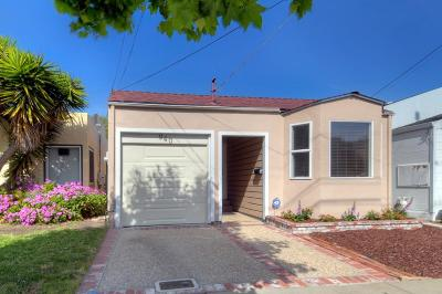 San Mateo County Single Family Home For Sale: 940 Mills Avenue