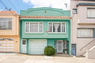 San Francisco County Single Family Home For Sale: 546 Paris Street