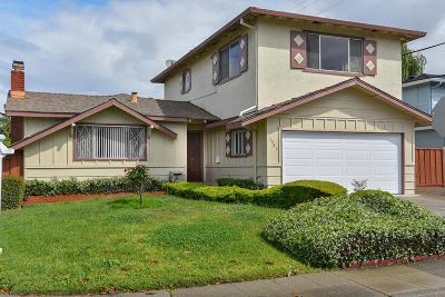 Milpitas Single Family Home For Sale: 1381 Saratoga Drive