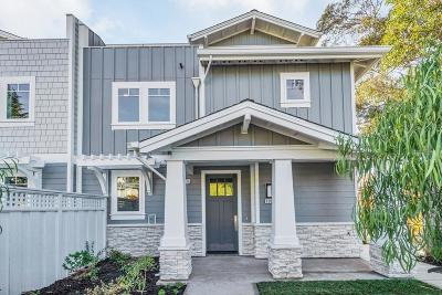 San Mateo Condo/Townhouse For Sale: 729 2nd Avenue