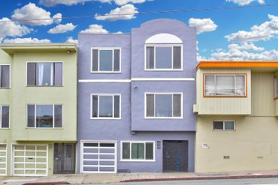 San Francisco Multi Family Home For Sale: 3332-3336 Taraval Street