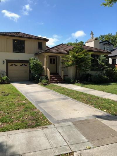 Millbrae Single Family Home For Sale: 721 Taylor Boulevard
