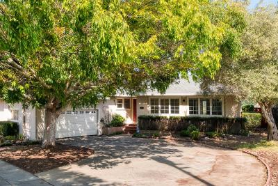San Mateo Single Family Home For Sale: 1283 Laurel Hill Drive