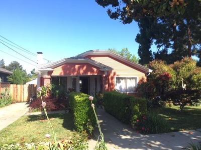 Mountain View Single Family Home For Sale: 416 Palo Alto Avenue