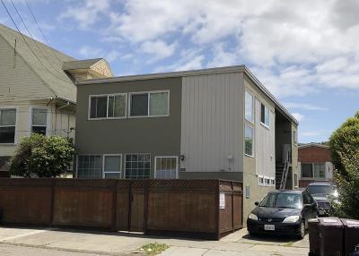 Oakland Multi Family Home For Sale: 1047 Alcatraz Avenue