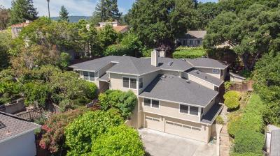 Cupertino Single Family Home For Sale: 10135 Scenic Boulevard