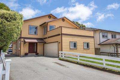 Half Moon Bay Multi Family Home For Sale: 61 Valencia Street
