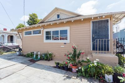 Oakland Single Family Home For Sale: 1452 70th Avenue