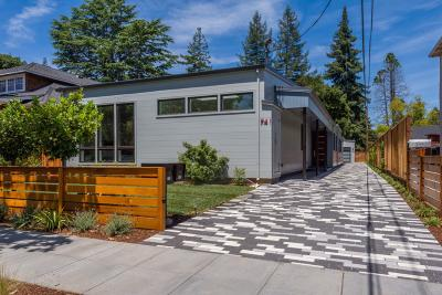 Palo Alto Single Family Home For Sale: 741 Homer Avenue