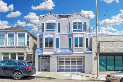 San Francisco Multi Family Home For Sale: 2008-2010 Judah Street