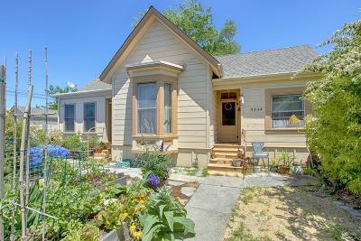 Santa Cruz Residential Lots & Land For Sale: 534 Frederick Street