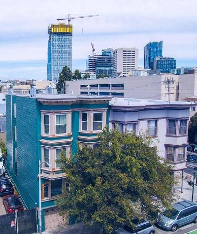 San Francisco Multi Family Home For Sale: 1608 -1612 Folsom Street