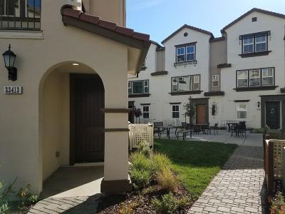 Union City Condo/Townhouse For Sale: 33413 Soares Ranch Terrace