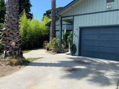 Santa Cruz Single Family Home For Sale: 227 Seaside Street