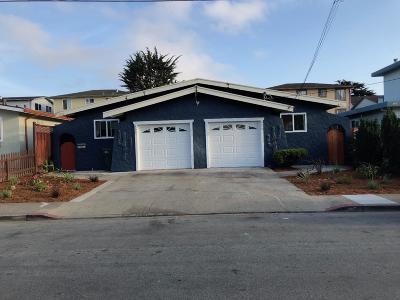Half Moon Bay Single Family Home Pending Show For Backups: 456 Oak Avenue