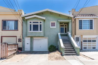 San Francisco County Single Family Home For Sale: 27 Seville Street