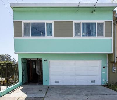 San Francisco County Single Family Home For Sale: 119 Ramsell Street