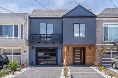 San Francisco County Single Family Home For Sale: 1891 35th Avenue