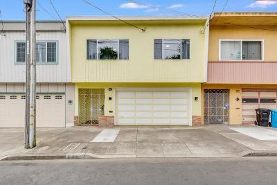 San Francisco County Single Family Home For Sale: 535 Raymond