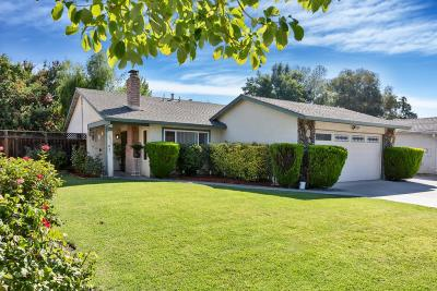 San Jose Single Family Home For Sale: 3926 Yolo Drive