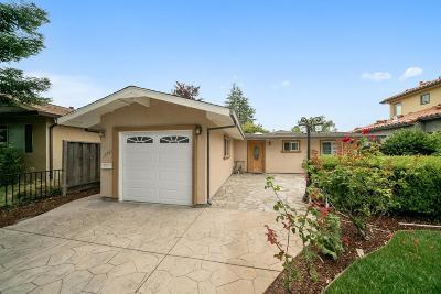 Cupertino Single Family Home For Sale: 18861 Barnhart Avenue